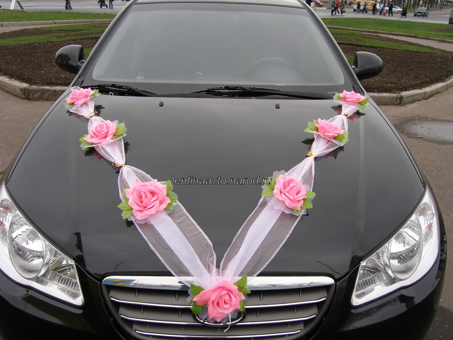 Свадьба украшения на машину своими руками